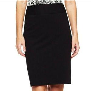 Liz Claiborne Career Essential Black Pencil Skirt